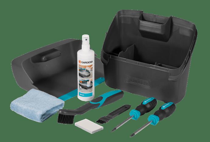 Gardena robotfűnyíró karbantartó- és tisztító készlet