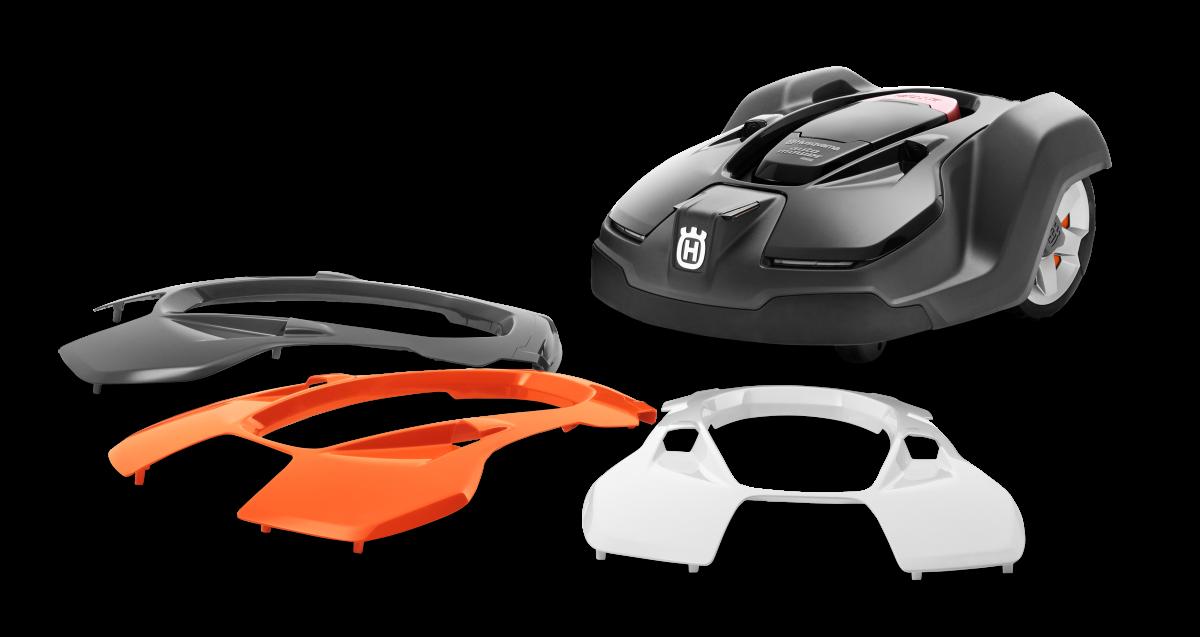 Husqvarna Automower 450X cserélhető felső burkolat narancs