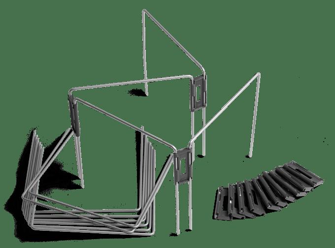 Husqvarna Automower ideiglenes kerítés