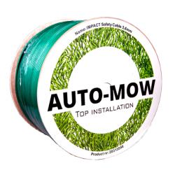 Auto-Mow Impact Safety vágásbiztos határoló vezeték 3,6 mm zöld (250 méter) 4.Kép