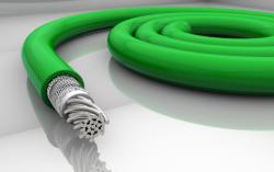 Auto-Mow Impact Safety vágásbiztos határoló vezeték 3,6 mm zöld (250 méter) 2.Kép