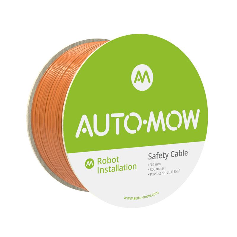 Auto-Mow Impact Safety vágásbiztos határoló vezeték 3,6 mm narancs (800 méter)