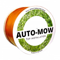 Auto-Mow Impact Safety vágásbiztos határoló vezeték 3,6 mm narancs (800 méter) 3.Kép