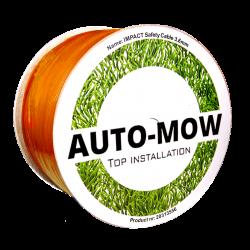 Auto-Mow 3,4 mm vastag Standard határoló vezeték narancs (500 m) 4.Kép