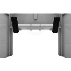 Auto-Mow My Robot Home robotfűnyíró ház garázs automata ajtóval fehér 6.Kép