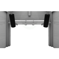 Auto-Mow My Robot Home robotfűnyíró ház garázs automata ajtóval natúr fa 3.Kép