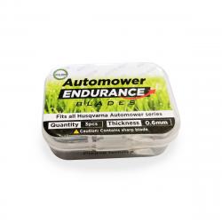 Auto-Mow Endurance tartalék késkészlet Husqvarna és Gardena robotfűnyírókhoz (3 db) 2.Kép