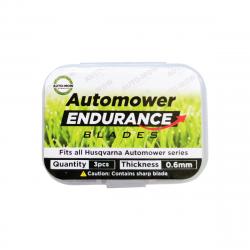 Auto-Mow Endurance tartalék késkészlet Husqvarna és Gardena robotfűnyírókhoz (3 db) 3.Kép