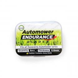 Auto-Mow Endurance tartalék késkészlet Husqvarna és Gardena robotfűnyírókhoz (9 db) 3.Kép