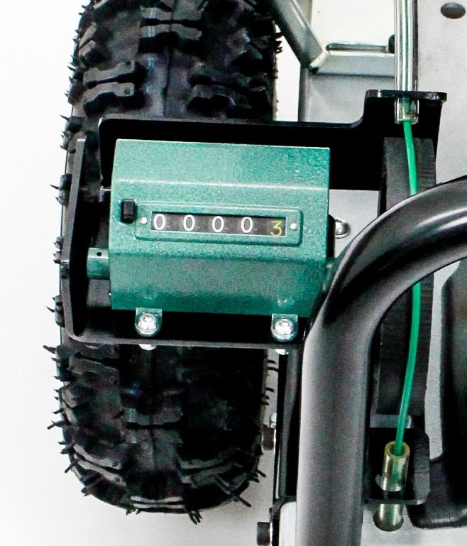 Portable Winch méterszámláló kábelfektető géphez