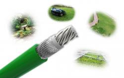 Auto-Mow Premium Safety vágásbiztos határoló vezeték 3,8 mm zöld (500 méter) 4.Kép