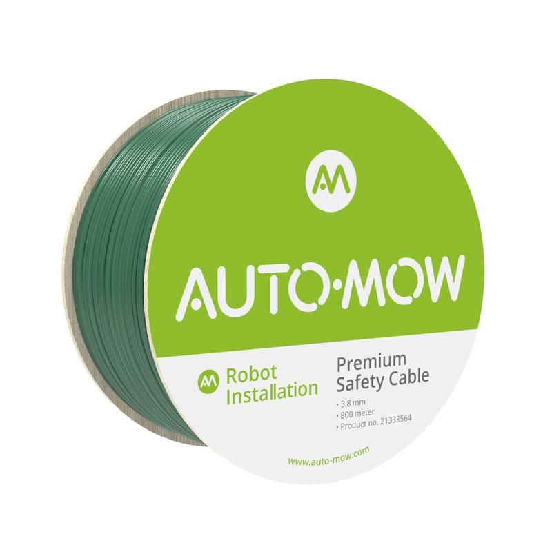 Auto-Mow Premium Safety vágásbiztos határoló vezeték 3,8 mm zöld (800 méter)