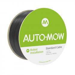 Auto-Mow 3,4 mm vastag Standard határoló vezeték fekete (500 m) 1.Kép
